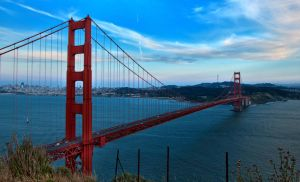 Golden Gate Bridge at Day by mnjul