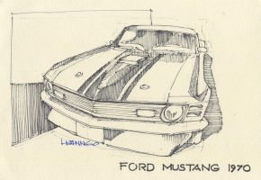 Ford Mustang 1970 by hoanbmw