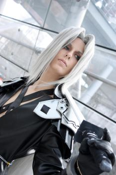 Sephiroth: Silver Bullet by Abessinier