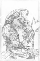 X-Sanction 1 cover pencils by EdMcGuinness