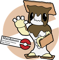 Fake Pokemon: Marshmore by Sageroot