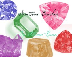 Gemstone Brushes by atumn-rane