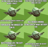 The Bible Yoda Reads by Tepheris