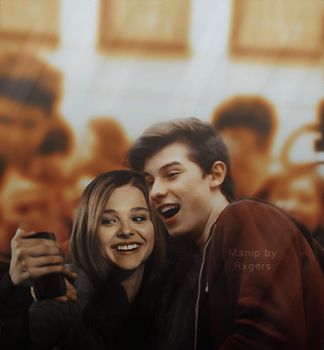 Shawn Mendes and Chloe Moretz Manip by MerRogers