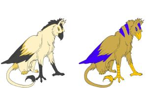 Gryphon Adoptables (1 LEFT!) by ElectricSimphony