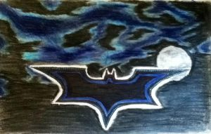 Batman Logo (finished) by Ben3418