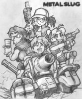 Tribute to Metal Slug... by alexsanlyra