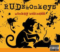 RUDEmonkeys - Monkey Business by maxamusholden