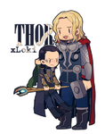 MC :: Thor x Loki by Cartooom-TV