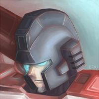 MTMTE: Perceptor painting by Fulcrumisthebomb