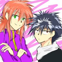 KURAMA AND HIEI by Hieiblackflame224
