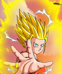 Pan ssj2 DBA by HelvecioBNF