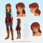 Remy Character Design by ChristiVivar