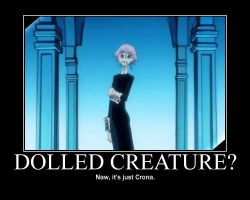 Crona: Dolled Creature? by CronaMotivation