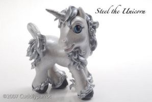 2007 - Steel the Unicorn by Cuddlyparrot