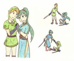 Request: Lyn and Link by kiki-isbeing-purples