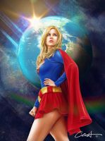 Supergirl the Defender by Chriswerx
