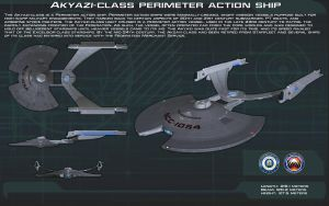 Akyazi-Class perimeter action ship ortho [New] by unusualsuspex