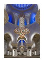 Abu Dhabi Mosque  Interior III by DanFreeman