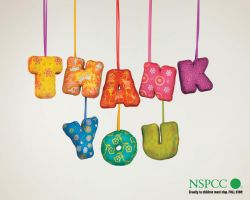 NSPCC Thank You by osbjef