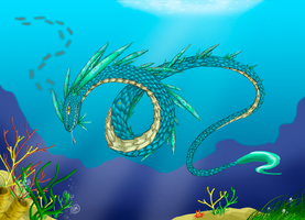 Sea Snake by Myklor