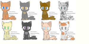 Free Adoptables! #3 *1 Left!* by Foreveranapprentice