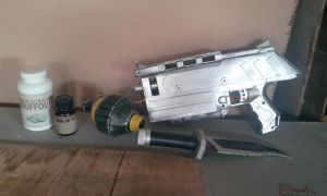 my fallout props so far 1# (WIP) by crazykazy