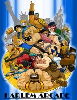 THE GRAPPLERS OF CAPCOM COMM. by ShoNuff44