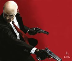 HITMAN ABSOLUTION by danb13