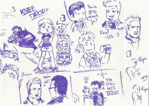 Dead Rising sketches1 by Germanoob94
