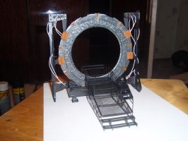 StarGate paper model 6 by BHAAD