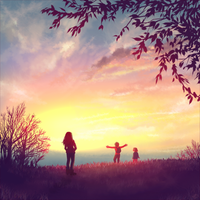 Quiet Sunset by Selven7