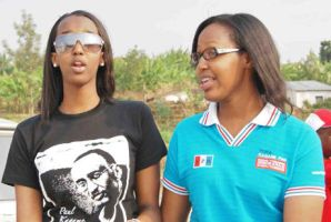 Ange Kagame with a friend by linkexperts