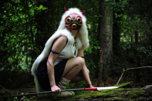 Princess Mononoke: It Approaches by LauraNeocleous