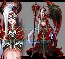 HALFDEMON LONGHAIBI ADOPT 18 [ Auction ] [ CLOSE ] by gattoshou