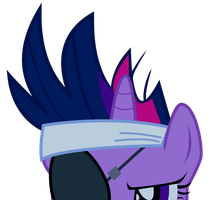 MLP - Sneaking Twilight by Warmo161