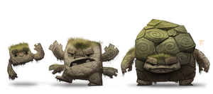 DAY 474. Kanto 074 - 075 - 076 by Cryptid-Creations