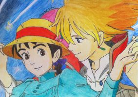 Howls Moving Castle by Tifta