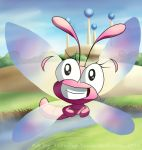 Bubblegum the Dragonfly by TarriPup