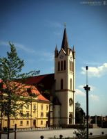 The parish church of Main Square in Keszthely by robiross66