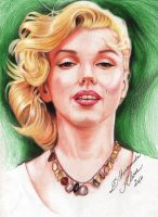 Marilyn Monroe 2 by dilhermandodidi