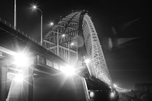 night bridge by belovodchenko