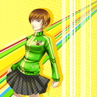 Satonaka Chie by GoldieAuvs