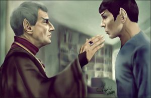 Father and Son by Nagini-snake