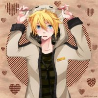 Len is a Neko New by Squ-chan