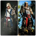 AC III - Connor Kenway - Then and Now by JO-Cosplay