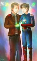 Crossover Steve and Alfred by Kurofer-Aldred