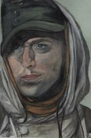 Portrait of a German Soldier by MadMagpie
