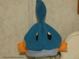 Mudkip Pokemon Fleece Hat by colbyjackchz