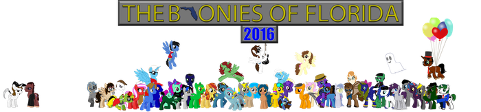The Bronies of Florida 2016 by mibevan